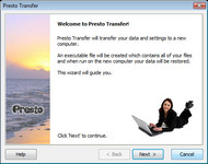 Presto Transfer Windows Live Messenger screenshot